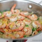 Shrimp Orzo Skillet | www.tasteandtellblog.com