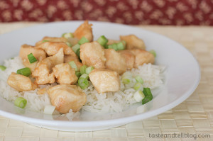 Sweet No Sesame Chicken | www.tasteandtellblog.com