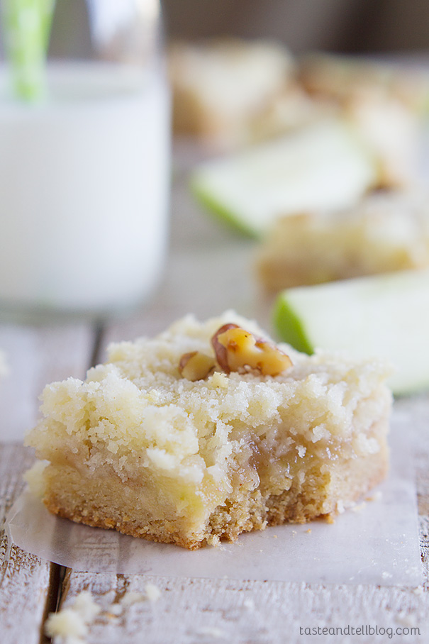 Recipe for Apple Crumb Bars