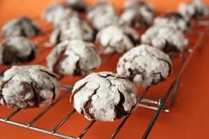 Chocolate Crinkles   www.tasteandtellblog.com