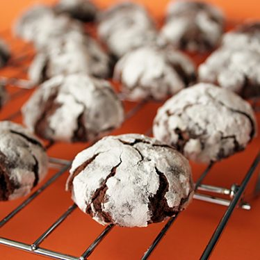 Chocolate Crinkles | www.tasteandtellblog.com