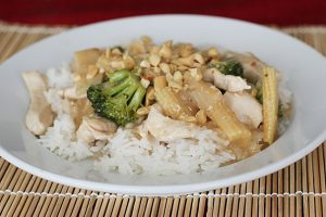 Corrie's Thai Style Chicken and Veggies | www.tasteandtellblog.com