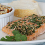 Cumin-Coriander Crusted Salmon