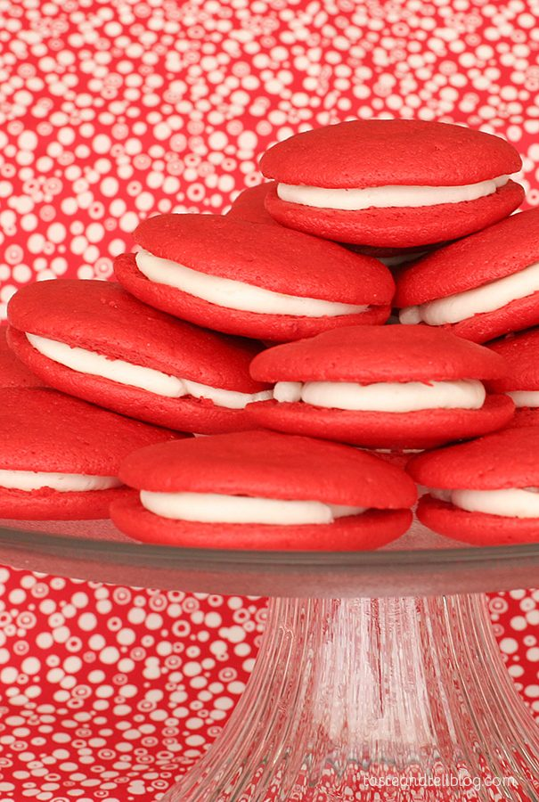 Cousin Johnnie's Red Velvet Whoopie Pies
