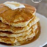 IHOP Corn Cake Pancakes | www.tasteandtellblog.com