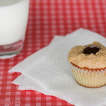 Cookbook of the Month Recipe – Peanut Butter & Jelly Cupcakes