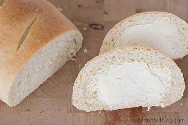 Polenta Bread | www.tasteandtellblog.com