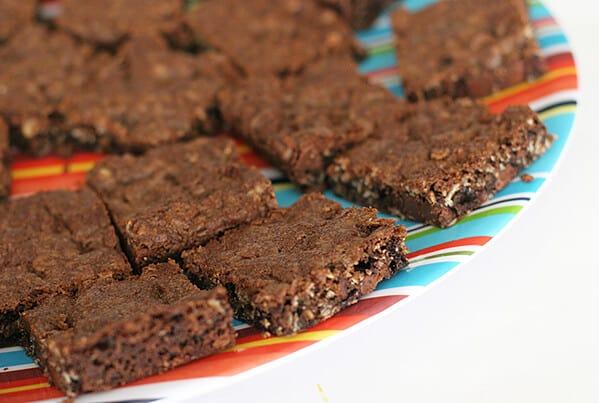 Chocolate Oatmeal Chippers   www.tasteandtellblog.com