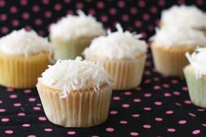 Coconut Snowball Cupcakes   www.tasteandtellblog.com