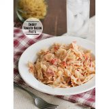 Smoky Tomato-Bacon Pasta | www.tasteandtellblog.com #recipe #pasta #bacon