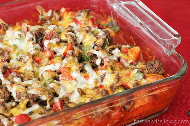 Taco Casserole | www.tasteandtellblog.com