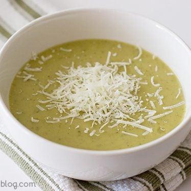Zucchini and Yellow Squash Soup | www.tasteandtellblog.com