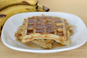 Banana Waffles | www.tasteandtellblog.com