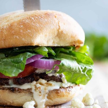 Blue Cheese Burger Recipe