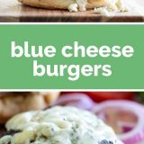 How to Make Blue Cheese Burgers