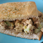 Chicken Salad Focaccia Sandwiches | www.tasteandtellblog.com