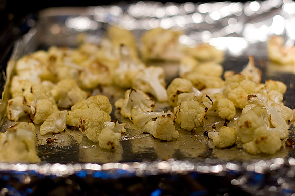Deeply Roasted Cauliflower | www.tasteandtellblog.com