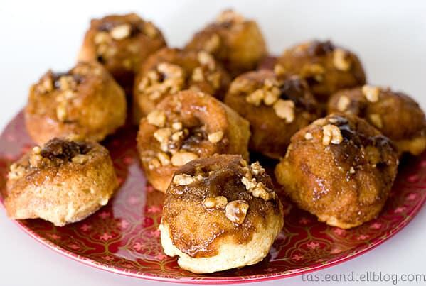 Orange-Honey Sticky Bun Muffins | www.tasteandtellblog.com