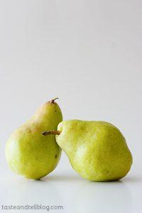 Pears | www.tasteandtellblog.com