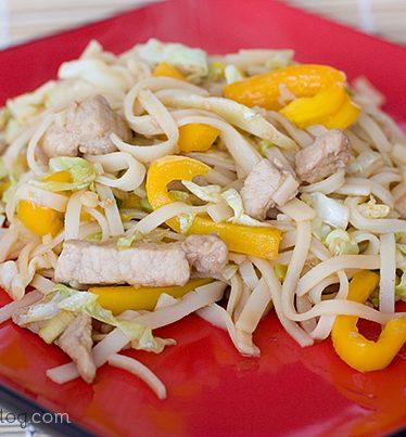 Pork Stir Fry | www.tasteandtellblog.com