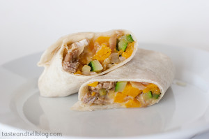Pork and Squash Burritos | www.tasteandtellblog.com
