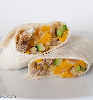 Pork and Squash Burritos | www.tasteandtellblog.com