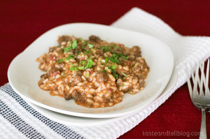 Sausage Risotto | www.tasteandtellblog.com