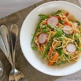 Soba Salad with Soy-Wasabi Vinaigrette