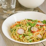 Soba Salad with Soy-Wasabi Vinaigrette