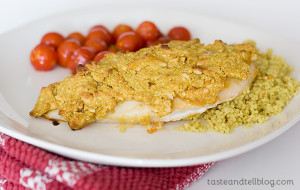 Sweet 'n' Nutty Chicken | www.tasteandtellblog.com