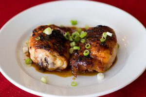 Teriyaki Chicken Thighs | www.tasteandtellblog.com