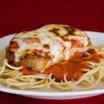 Boneless Pork Chops Parmigiana {Emeril 20-40-60 Fresh Food Fast: A Review}