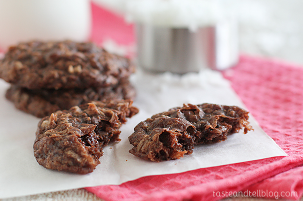 Brownie Coconut Macaroon Recipe