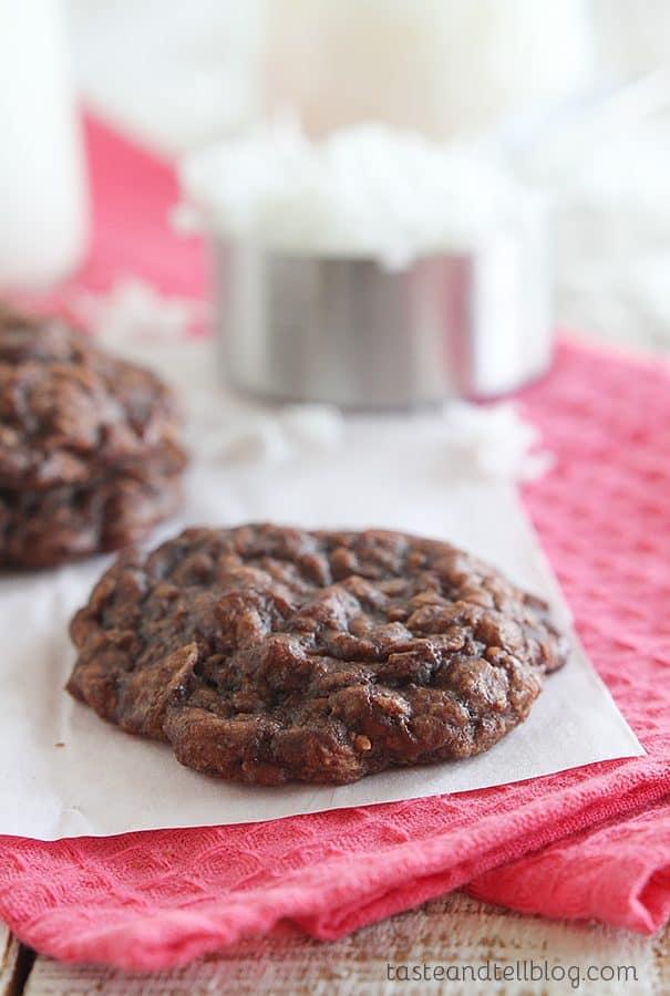 Brownie Coconut Macaroons