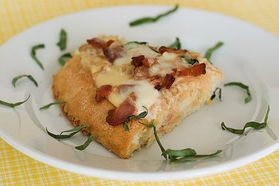 Clam & Bacon Focaccia