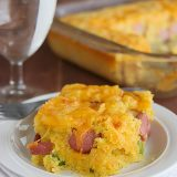 Corn Dog Casserole on Taste and Tell