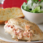 Feta Stuffed Chicken Breasts | www.tasteandtellblog.com