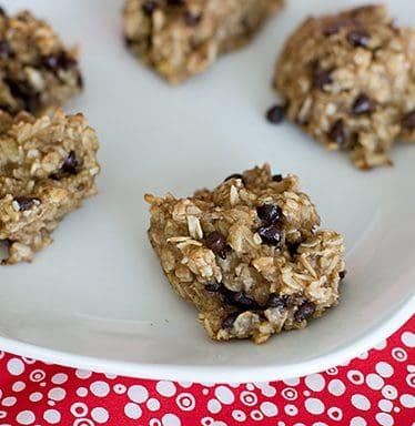 Healthy Banana Cookies | www.tasteandtellblog.com
