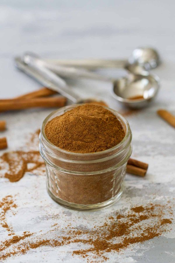 Homemade Pumpkin Pie Spice in a Jar