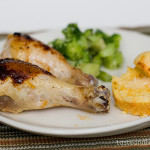 Spicy Orange Glazed Drumsticks | www.tasteandtellblog.com