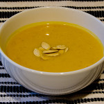 Spicy Pumpkin Soup | www.tasteandtellblog.com