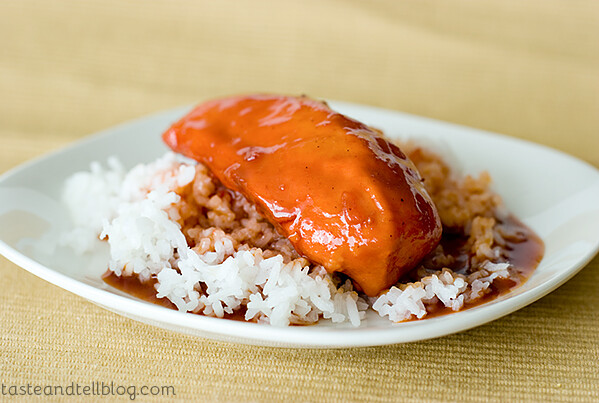 Sweet and Sour Chicken | www.tasteandtellblog.com