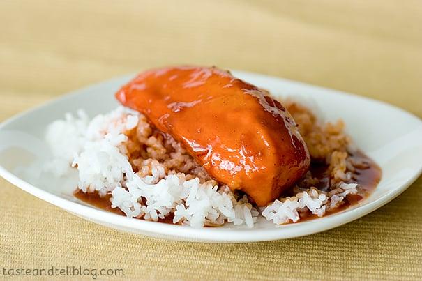 Sweet and Sour Chicken   www.tasteandtellblog.com