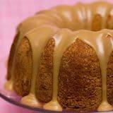 Buttermilk Cake with Caramel Icing | www.tasteandtellblog.com
