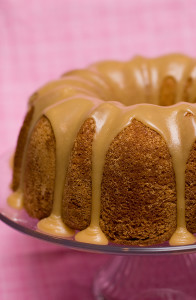 Buttermilk Cake with Caramel Icing | www.tasteandtellblog.com