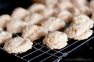 Orange Creme Cookies | www.tasteandtellblog.com
