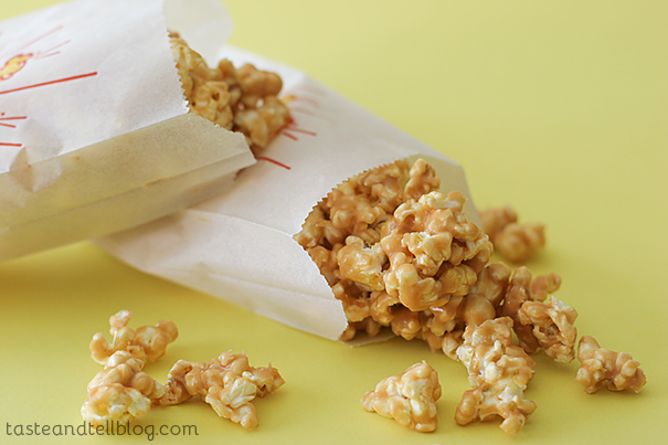 Peanut Butter Popcorn | www.tasteandtellblog.com