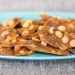 Peanut Toffee | www.tasteandtellblog.com