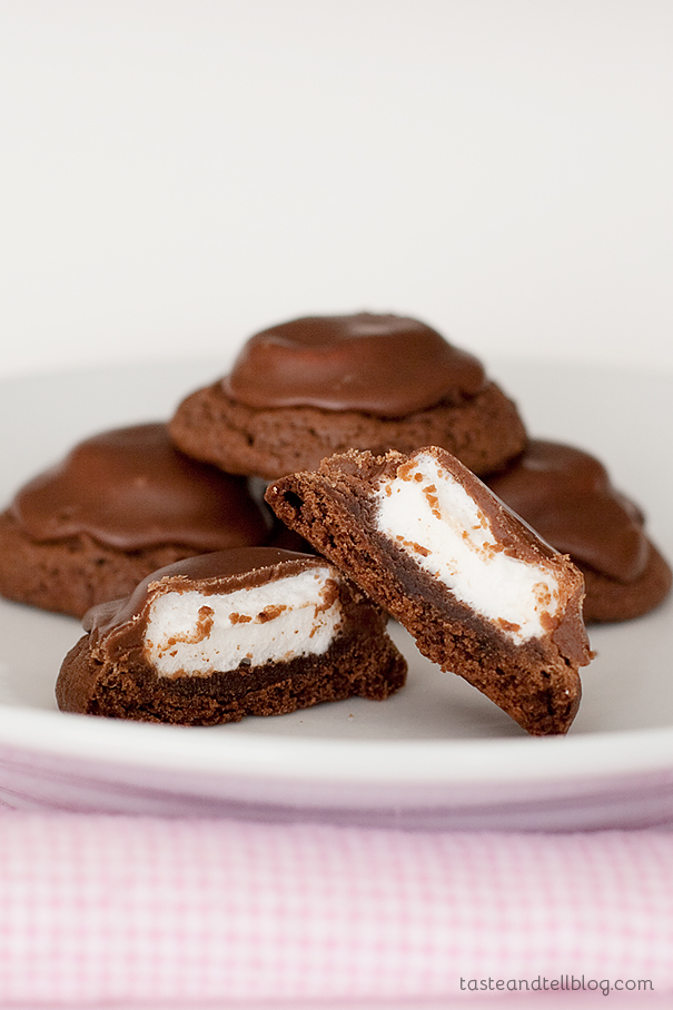 Surprise Cookies   www.tasteandtellblog.com