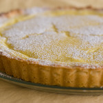 Cookbook of the Month Recipe – Custard Cream and Ricotta Tart